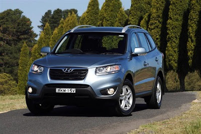 2010 Hyundai Santa Fe Car Wallpaper