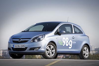 2010 Opel Corsa ecoFLEX Image