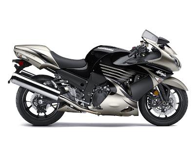 2010 Kawasaki Ninja ZX-14 Metallic Black