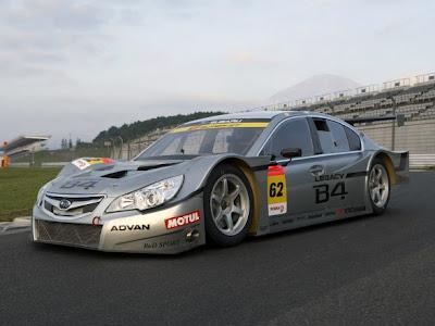 2009 Subaru Legacy B4 GT300 Sport Car