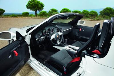 2010 Porsche Boxster Spyder Interior
