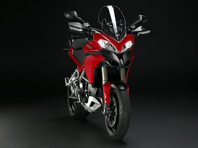 2010 Ducati Multistrada 1200 Front Angle View