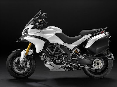 2010 Ducati Multistrada 1200 White Edition