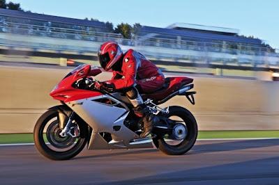 2010 MV Agusta F4 Test Speed
