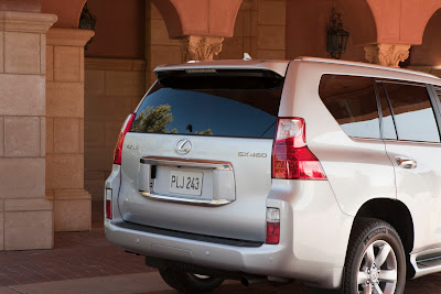 2010 Lexus GX460 Rear Angle View