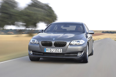 2011 BMW 5-Series Front Angle View