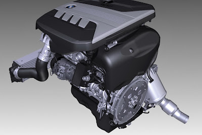 2011 BMW 5-Series Engine
