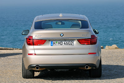 2010 BMW 535i Gran Turismo Rear View