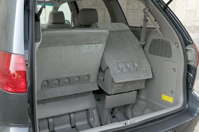 2011 Toyota Sienna Trunk