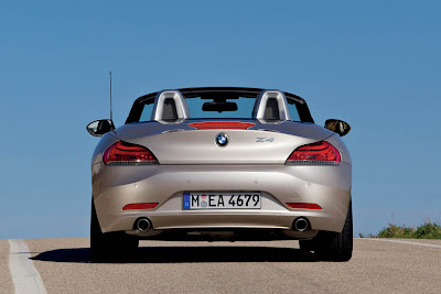 2010 BMW Z4 Rear View