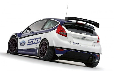 2010 Ford Fiesta S2000 Rear Side View