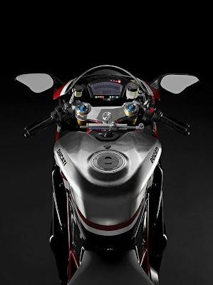 2010 Ducati 1198R Corse Special Edition Dash