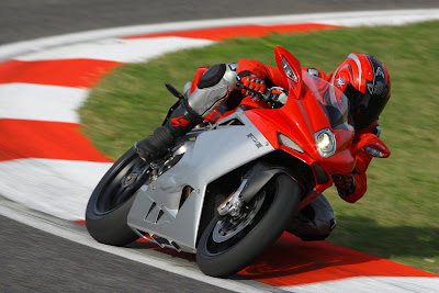 2010 MV Agusta F4 In Action
