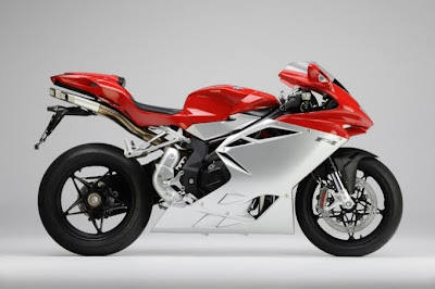 2010 MV Agusta F4 Metallic Red