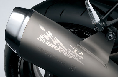 2010 Suzuki GSX-R1000Z 25th Anniversary Exhaust View