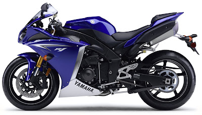 2010 Yamaha YZF-R1 Side View