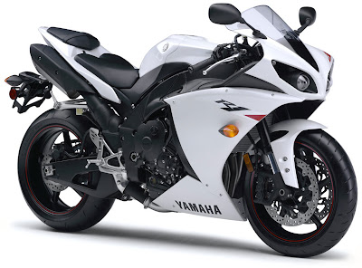 2010 Yamaha YZF-R1 White Edition