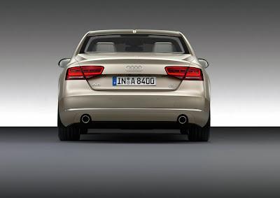 2011 Audi A8 Rear View