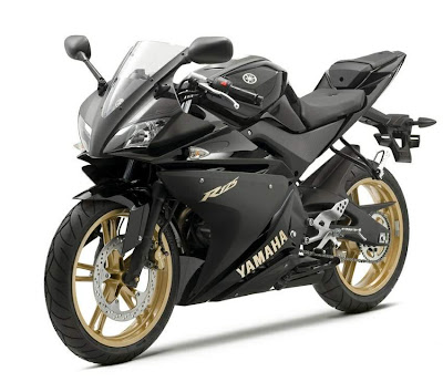 2010 Yamaha YZF-R 125 Black Color