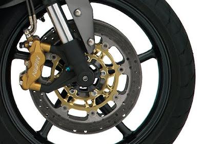 2010 Triumph Street Triple R Brakes View