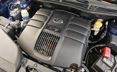 2010 Subaru Tribeca Car Engine
