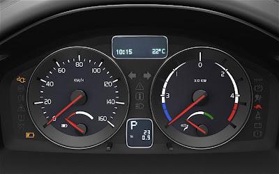 2010 Volvo C30 BEV Control Panel