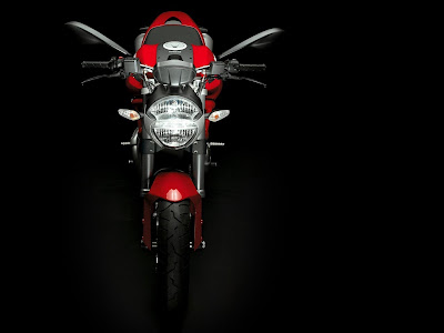 2010 Ducati Monster 696 Front View