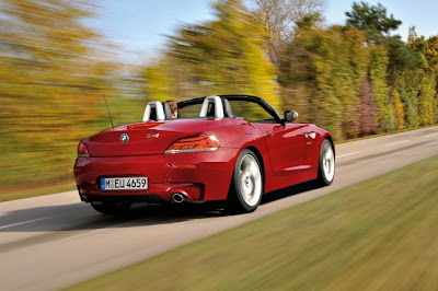 2011 BMW Z4 Test Road