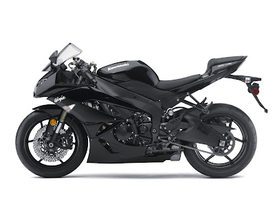 2010 Kawasaki Ninja ZX-6R Black Series