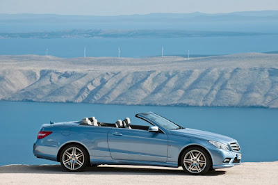 2011 Mercedes-Benz E-Class Cabriolet Side View