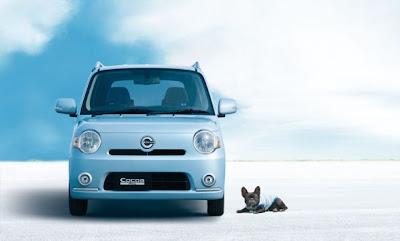 2010 Daihatsu Mira Cocoa Front View