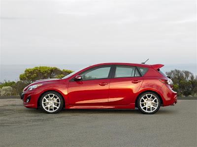 2010 Mazdaspeed3 Side View