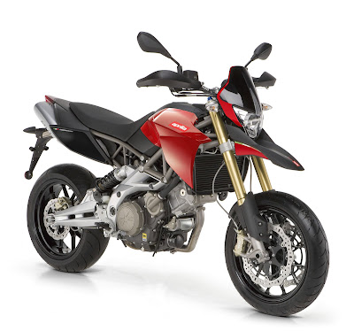 2010 Aprilia Shiver 750 Black Red