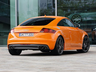 2011 Audi TTS Coupe Rear Angle View