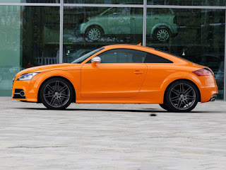 2011 Audi TTS Coupe Side View