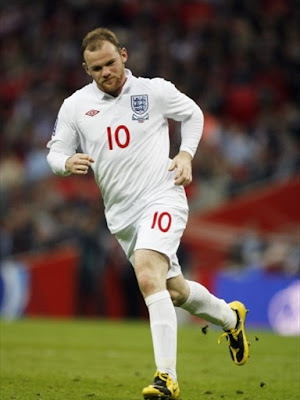 Wayne Rooney World Cup 2010 Poster