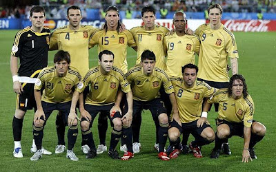 World Cup 2010 Spain Football Team Image