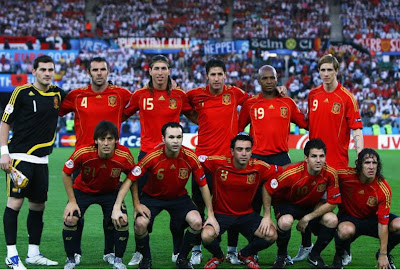 Spain World Cup 2010 Football Team Wallpaper