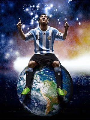 Messi  Wallpapers on Lionel Messi World Cup 2010 Argentina Best Football Player