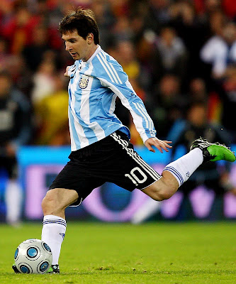 Lionel Messi World Cup 2010 Big Poster