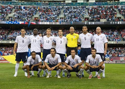 World Cup 2010 USA Football Team