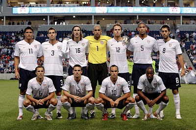 World Cup 2010 USA Football Team Picture