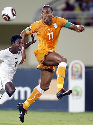 Didier Drogba World Cup 2010 Football Picture