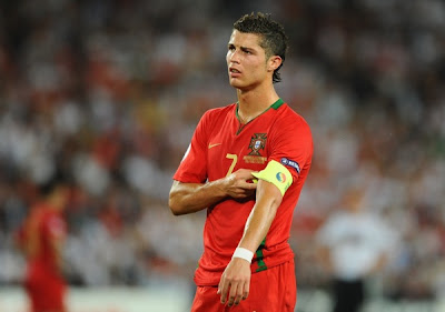 Cristiano Ronaldo World Cup 2010 Portugal Soccer Team