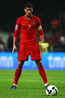 ristiano Ronaldo World Cup 2010 Portugal Football Player