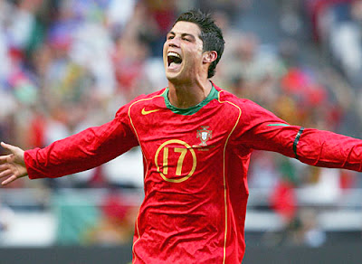 Cristiano Ronaldo Portugal World Cup 2010 Football Wallpaper