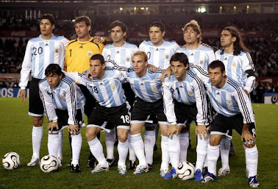 Argentina National Team World Cup 2010 Football Picture