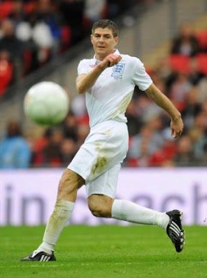 Steven Gerrard World Cup 2010 Poster