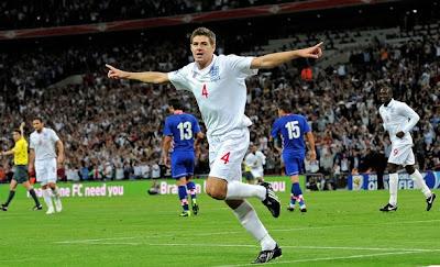 World Cup 2010 Steven Gerrard Image
