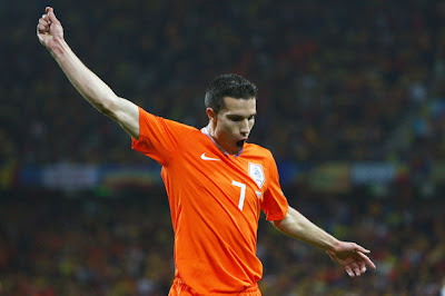 Robin van Persie World Cup 2010 Football Picture
